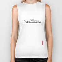 ferrari Biker Tanks featuring Ferrari 312P by Remove Before . . .