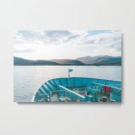 Isle of Arran Ferry, Scotland Metal Print