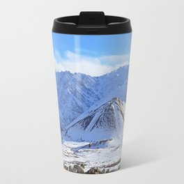 Beautiful Winter Season Landscape Travel Mug