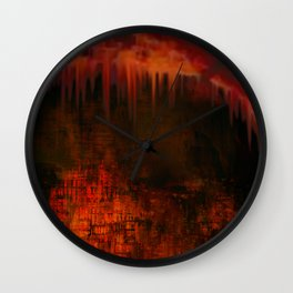 Cave 02 / Golden Fantasy in Palace / wonderful world 07-11-16 Wall Clock