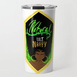 Natural NOT Nappy Travel Mug