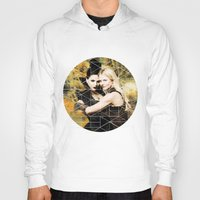 swan queen Hoodies featuring Swan Queen II by Geek World