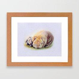 Itchascratch Framed Art Print