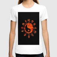 yin yang T-shirts featuring Yin yang. by DesignAstur