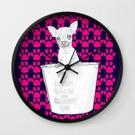 Chihuahua! Wall Clock