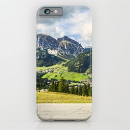 on the roads of dolomites iPhone Case
