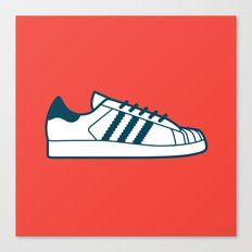 #56 Adidas Superstar Canvas Print