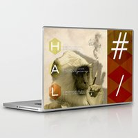 fez Laptop & iPad Skins featuring hal by Rosa Picnic