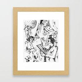 Scene 1 Framed Art Print