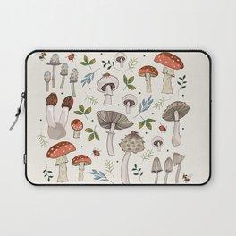 Wild Mushrooms & Toadstools Laptop Sleeve