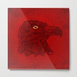 Red Eagle Metal Print