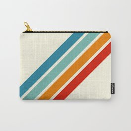 Alator - Classic 70s Retro Summer Stripes Carry-All Pouch