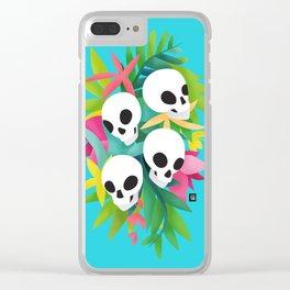 Carnaval de muerte Clear iPhone Case