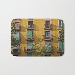 Windows in Barcelona Bath Mat