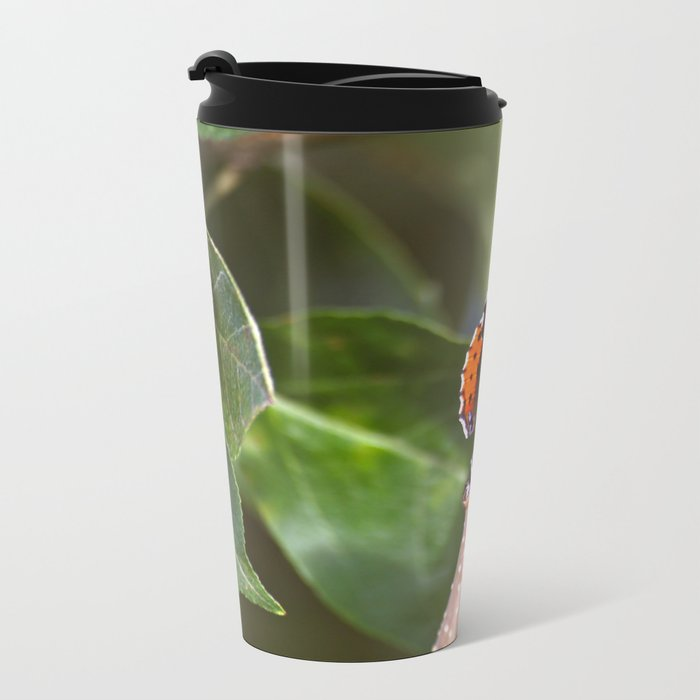 Admiral On The Apple Tree Branch #decor #society6 Metal Travel Mug