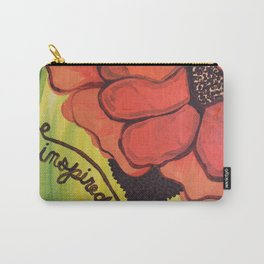 """""""be inspired"""" Carry-All Pouch"""