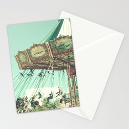 Winter Swing Chairs  Stationery Cards