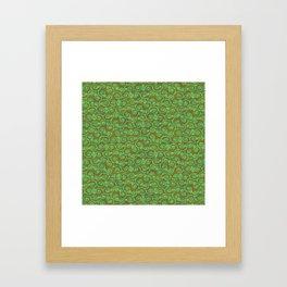 Patchouli Batik Framed Art Print