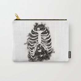 Space inbetween the ribs Carry-All Pouch