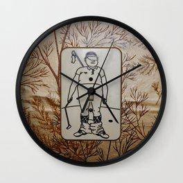 Grandma's Lightswitch Wall Clock