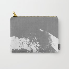 White Mountain #Abstract Carry-All Pouch