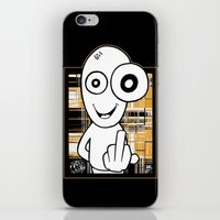 walter white iPhone & iPod Skins featuring Walter by ouchgrafix urban art