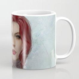 Gone - Portrait of a beautiful redhead girl Coffee Mug
