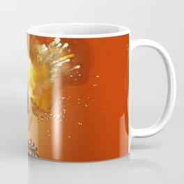 Soccer with fire Coffee Mug