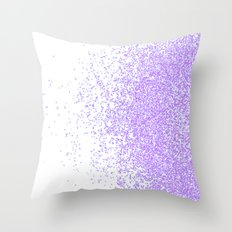 sweet and purple Throw Pillow