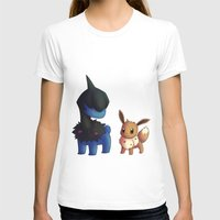 eevee T-shirts featuring Deino and Eevee by Lollitree