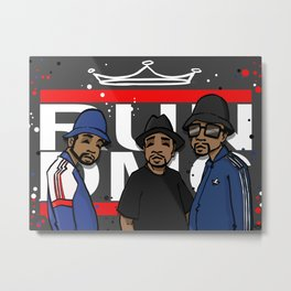 Get Down with the Kings Metal Print
