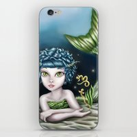capricorn iPhone & iPod Skins featuring Capricorn by Paula Ellenberger