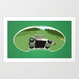 In it for the Drunk Driving Art Print