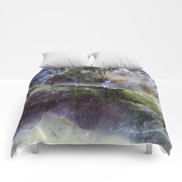 Ocean Shell Abstract Comforters