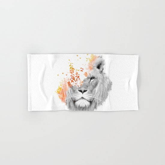 If I roar (The King Lion) Hand & Bath Towel