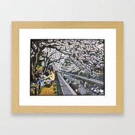 Le Bain in Shukugawa Koen Framed Art Print