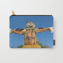 Happy Halloween Scarecrow Carry-All Pouch
