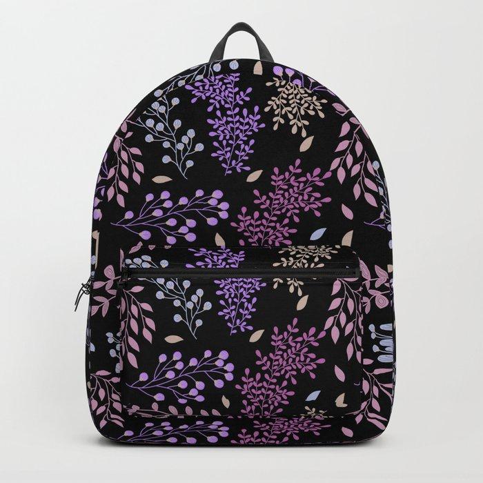 PURPLE AUTUMN LEAVES Backpack