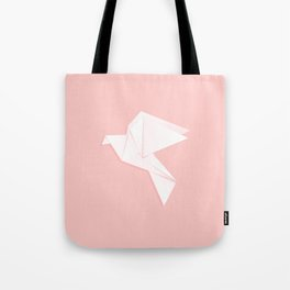 Origami dove Tote Bag
