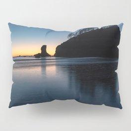 Sea Stack Silhouette Pillow Sham