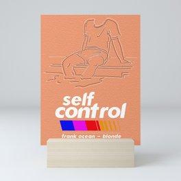 Blonde - Self Control Mini Art Print