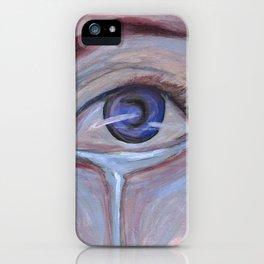 Cool Sorrow iPhone Case