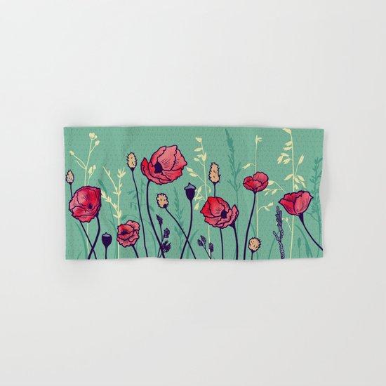 Summer Field Hand & Bath Towel