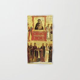 Triumph Of Orthodoxy Medieval Christianity Hand & Bath Towel