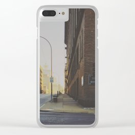 Morning Light 2 Clear iPhone Case