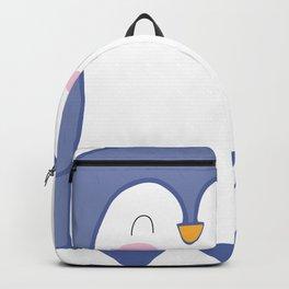 Cute Penguin Love Backpack