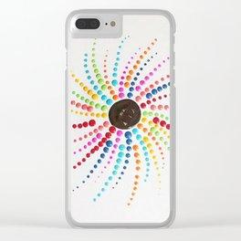 E Wheel Clear iPhone Case