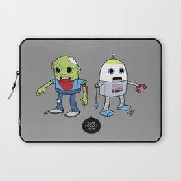 Zombie+Bot Laptop Sleeve