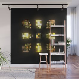 My Cubed Mind: Frame 141 Wall Mural