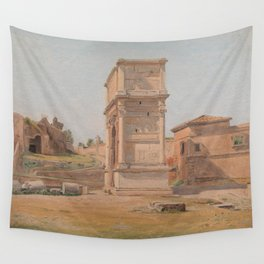 The Arch of Titus in Rome 1839 Wall Tapestry